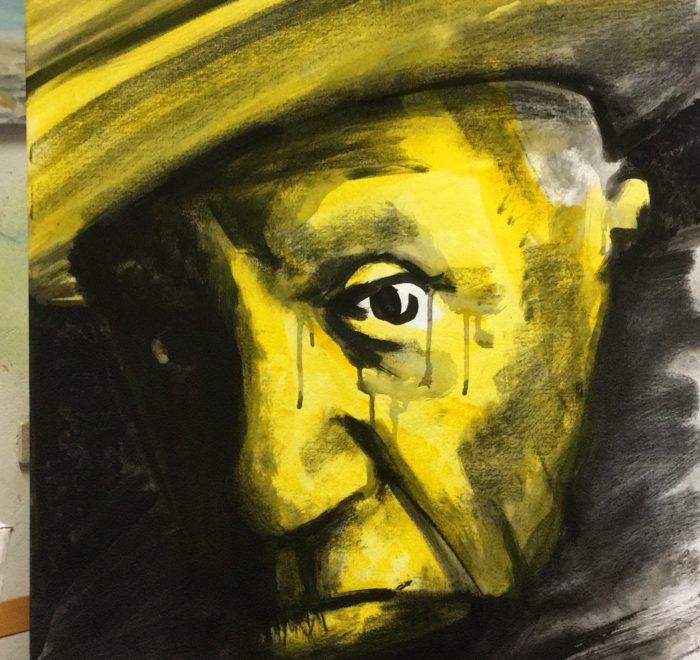 Portrait von Picasso
